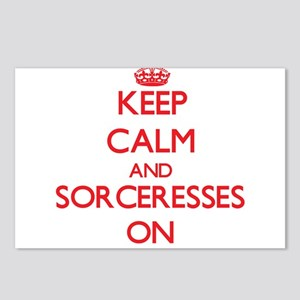 Keep Calm and Sorceresses Postcards (Package of 8)