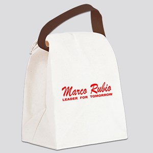 Marco Rubio: Leader for Tomorrow Canvas Lunch Bag