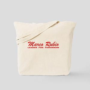 Marco Rubio: Leader for Tomorrow Tote Bag