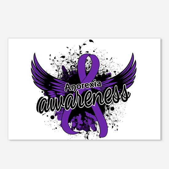 Anorexia Awareness 16 Postcards (Package of 8)