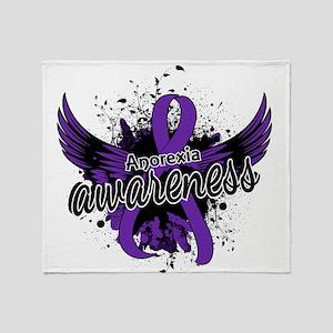 Anorexia Awareness 16 Throw Blanket