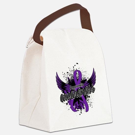Anorexia Awareness 16 Canvas Lunch Bag