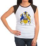 Lisle Family Crest Women's Cap Sleeve T-Shirt