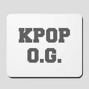 KPOP O G-Fre gray 600 Mousepad