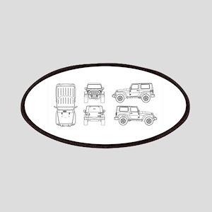 Jeep JK Wrangler Multi View Patch