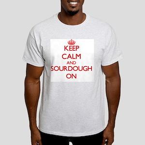 Keep Calm and Sourdough ON T-Shirt