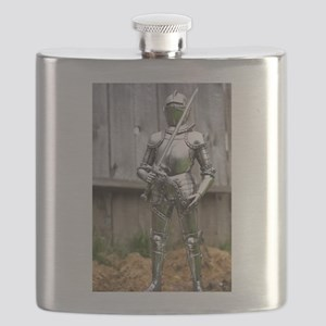 Country Knight Flask