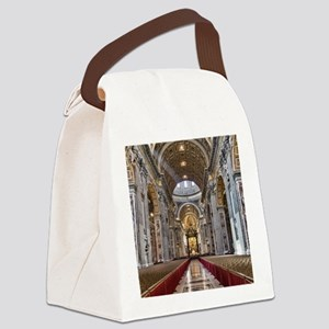 St. Peter's Basilica Canvas Lunch Bag