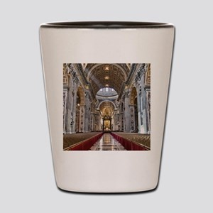 St. Peter's Basilica Shot Glass