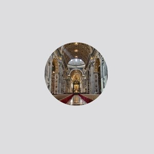 St. Peter's Basilica Mini Button