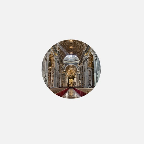 St. Peter's Basilica Mini Button