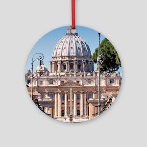 Saint Peter's Tomb Round Ornament