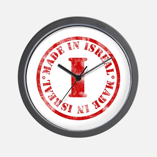 Made in Isreal Wall Clock