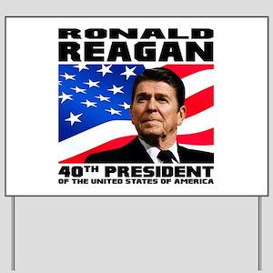 40 Reagan Yard Sign