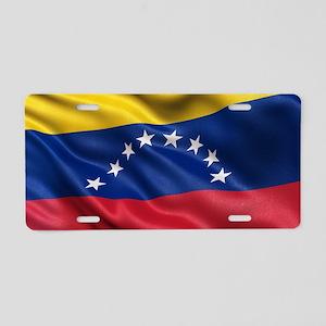 Flag of Venezuela Aluminum License Plate