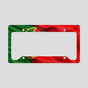 Portugal flag License Plate Holder