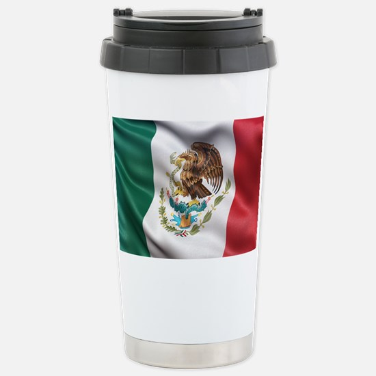 Mexico flag Stainless Steel Travel Mug