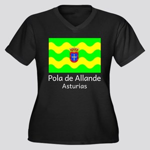 Pola de Allande Plus Size T-Shirt