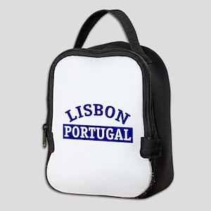 LISBON, Portugal Neoprene Lunch Bag