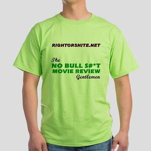 RightOrShite.net Green T-Shirt