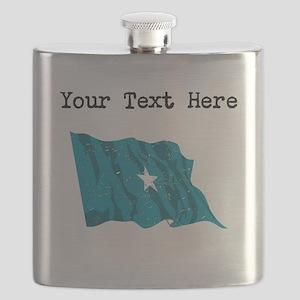 Somalia Flag Flask