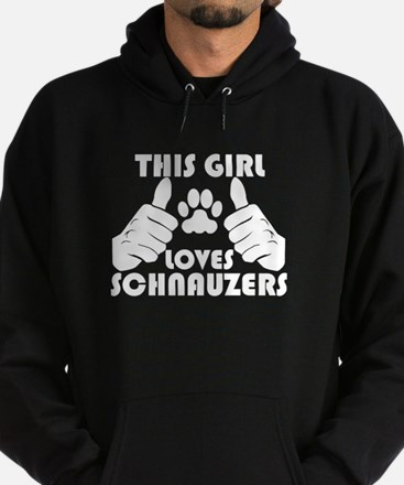This cool This Girl Loves Schnauzers design is a g