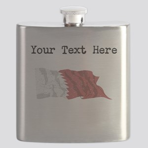 Qatar Flag Flask