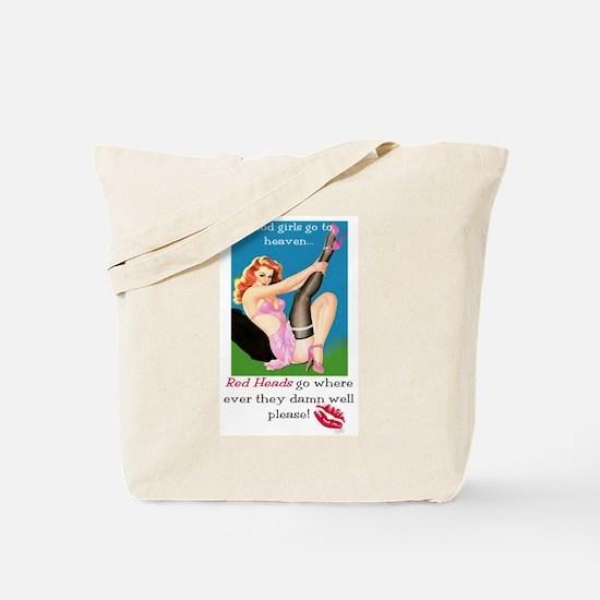 Redheads Go Anywhere Tote Bag
