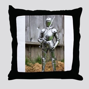 Country Knight Throw Pillow