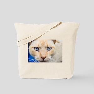 Blue Eyed Tote Bag