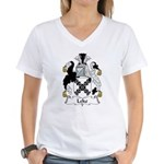Leke Family Crest Women's V-Neck T-Shirt