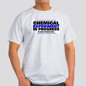 CHEMICAL EXPERIMENT in PROGRESS Ash Grey T-Shirt