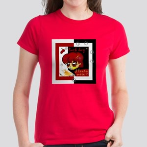 """Each day I learn more"" Women's Dark T-Shirt"