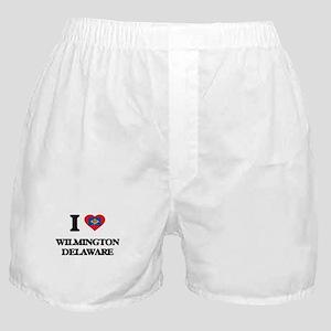 I love Wilmington Delaware Boxer Shorts