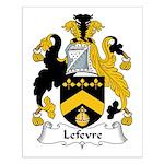 Lefevre Family Crest Small Poster