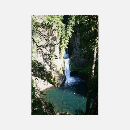 Toketee Falls Rectangle Magnet