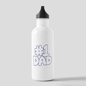 Number 1 Dad Water Bottle