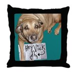 Hey Vick! Throw Pillow