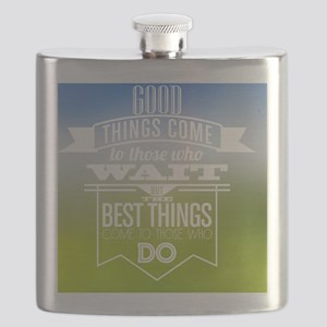 Take action Flask