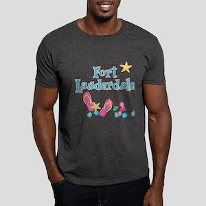 Ft Lauderdale Flip Flops - Dark T-Shirt