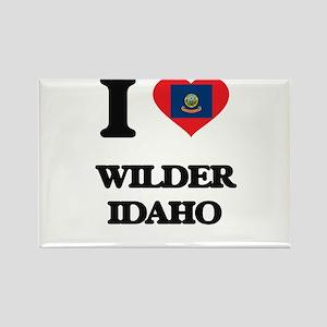I love Wilder Idaho Magnets