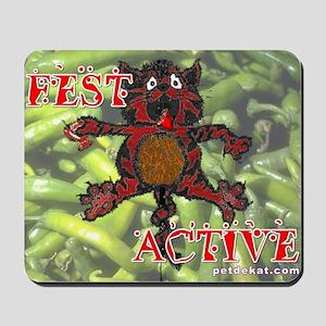 Jazz Fest : Pet de Kat Krewe Fest Active Mousepad