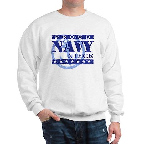 Proud Navy Niece Sweatshirt