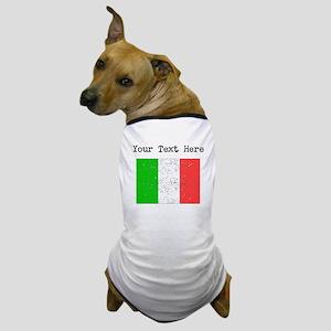 Italy Flag Dog T-Shirt