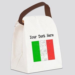Italy Flag Canvas Lunch Bag