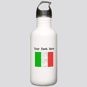 Italy Flag Water Bottle
