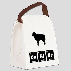 Miniature Australian Shepherd Canvas Lunch Bag