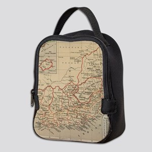 Vintage Map of South Africa (18 Neoprene Lunch Bag