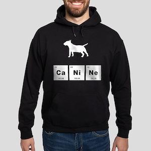 Miniature Bull Terrier Hoodie (dark)