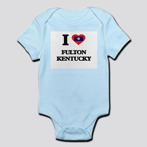 I love Fulton Kentucky Body Suit